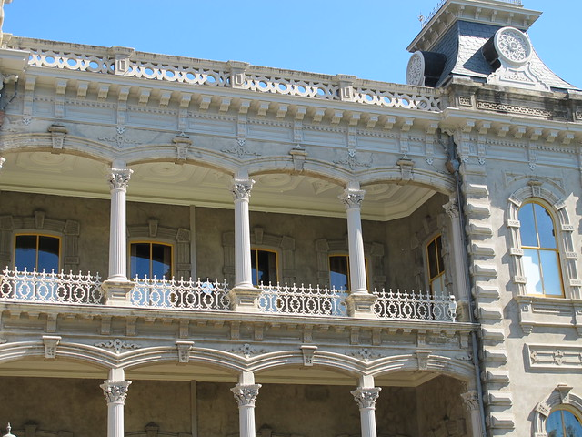 Queen Liliuokalani Palace Inside Upper level of ...