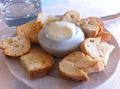 Bitoriano | Izarra Taberna | Aperitivo de queso Idiazabal