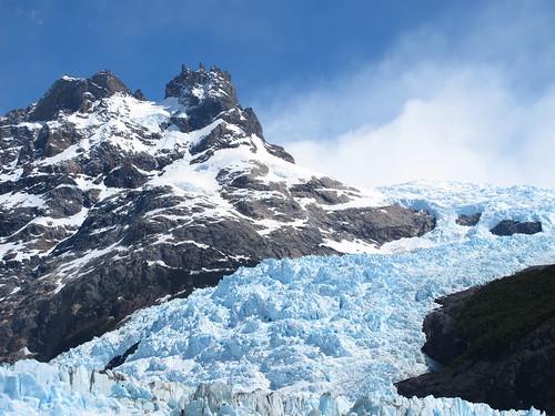 Am Glaciar Spangazzini