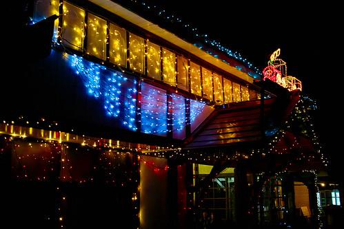 Nagatoro station illumination