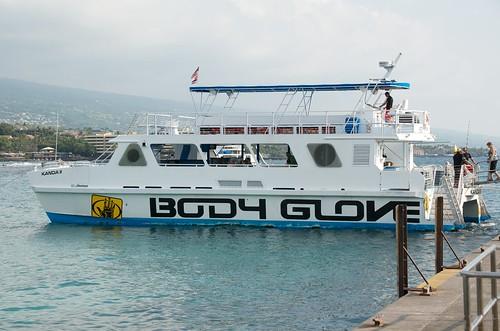 Body Glove boat