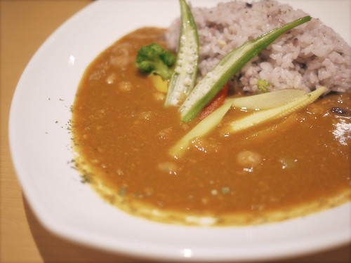 Curry with Summer Vegetables