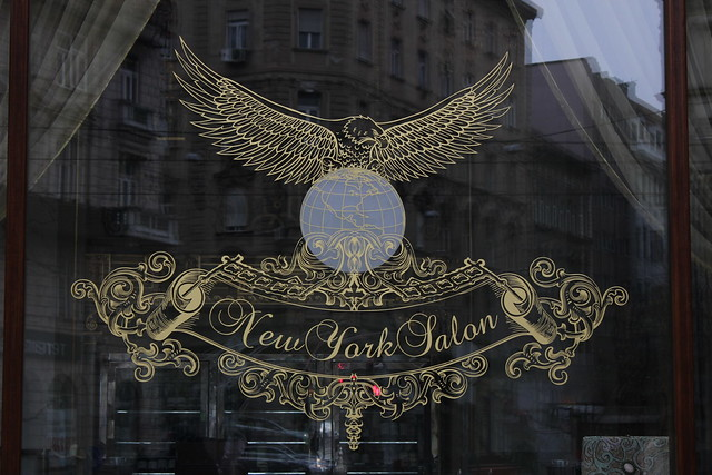 Vitrina del New York Cafe de Budapest