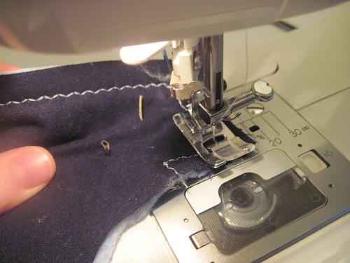 Sewing Zipper Shield
