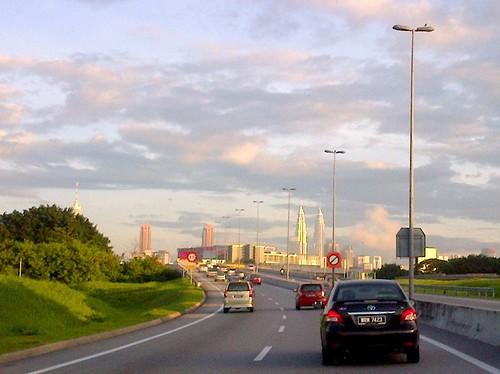 View from MEX of Kuala Lumpur  cityscape.. by Adibi