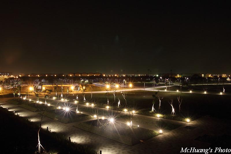 台灣歷史博物館夜景