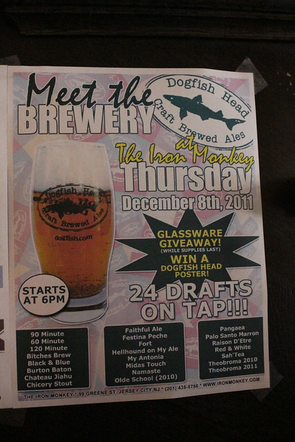 6433406191 2142f4b658 z Event   Dogfish Head Night At The Iron Monkey