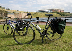Bikes and Stadium of Light
