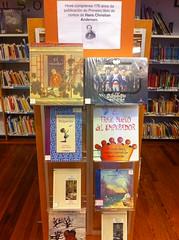176 Anos da Publicación do Primeiro libro de contos de Hans Christian Andersen by Bibliotecas Municipais da Coruña
