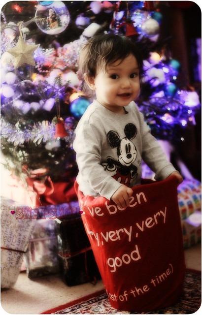 baby Will's first Christmas