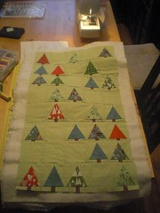 Advent quilt sandwich