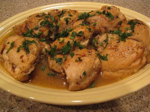 recipe: sherry chicken recipe [7]