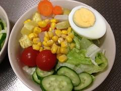 朝食サラダ(2011/12/2)