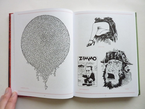 500 Portraits by Tony Millionaire - pages