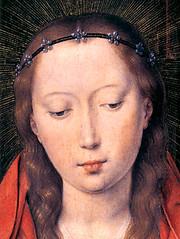 Hans Memling (1430), La Virgen María