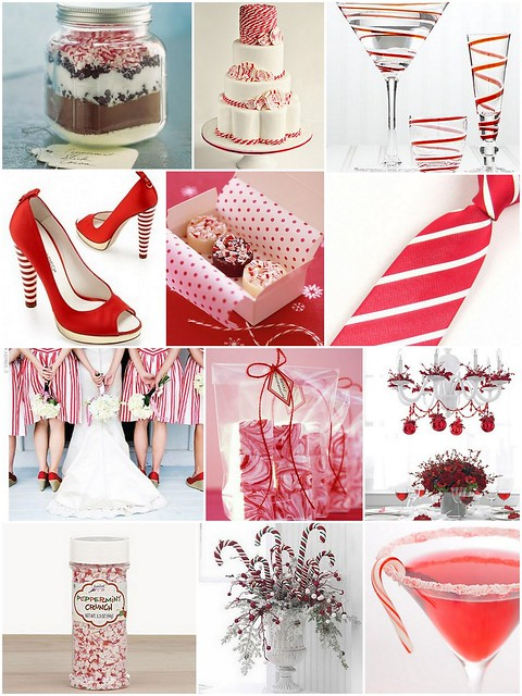 Candy Cane Wedding Inspiration