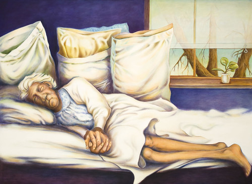 Pillows, 44x60, 2003, Oil on canvas_jpg