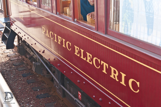 Pacific Electric Railway / Red Car Trolley - Pacific Electric 501 Car