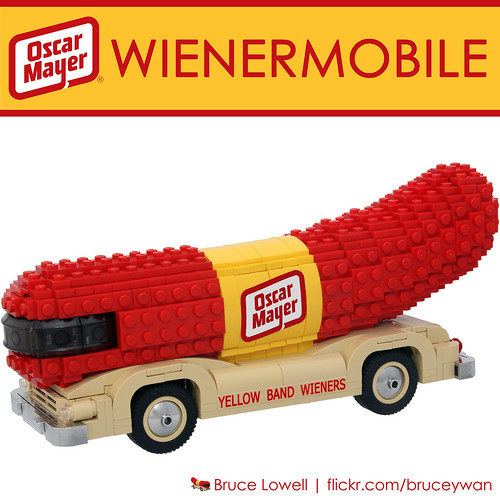 LEGO Oscar Mayer Wienermobile