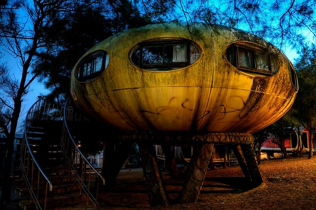 Ufo house built in Taiwan