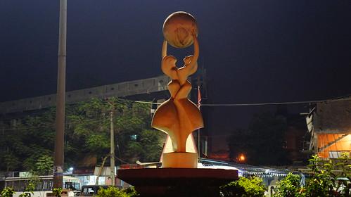world art statue chowk silvassa dadraandnagarhaveli