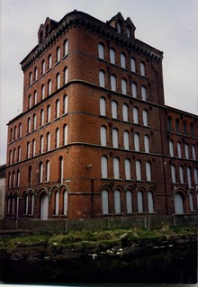 Warehouse,Clanrye Mills, Newry , Co Down, February 1988