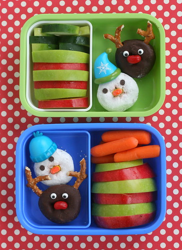 sweet bento snacks