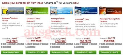 Ashampoo Giveaway_software