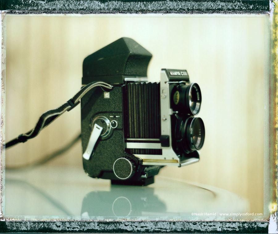 Mamiya C330f medium format camera