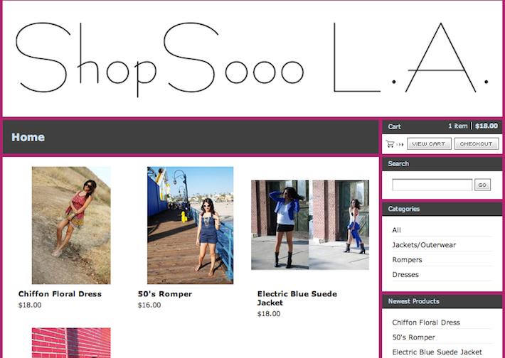 Shop Sooo LA