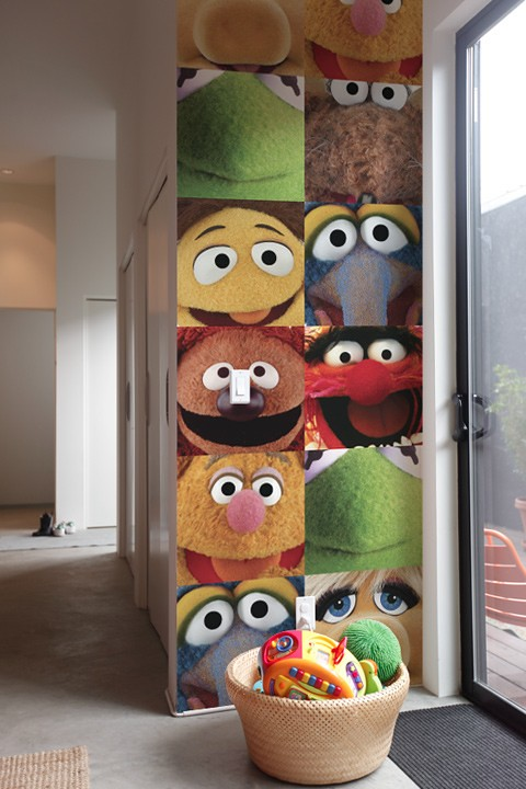 THE MUPPETS WALL STICKERS