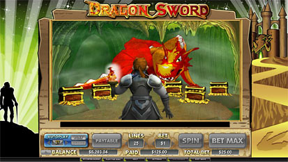 Dragon Sword free spins