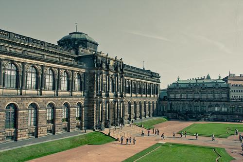 Zwinger Dresden by fotografiehalle