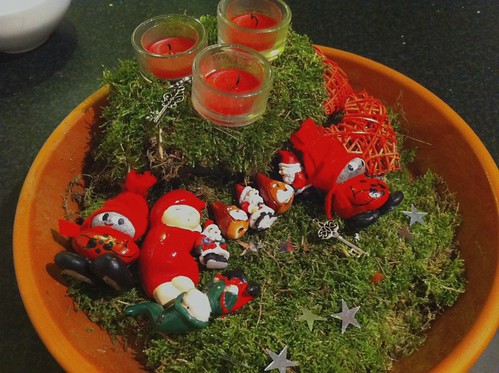 Gnomes on moss
