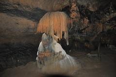 Interesting formation in underground cave in Aggtelek