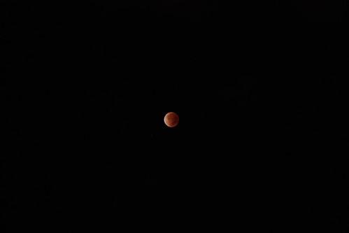 皆既月食(Lunar eclipse)