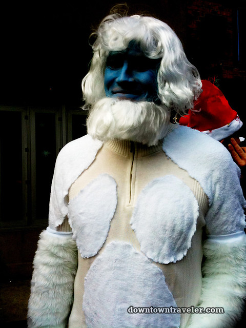 SantaCon NY 2011 East Village Abominable Snowman