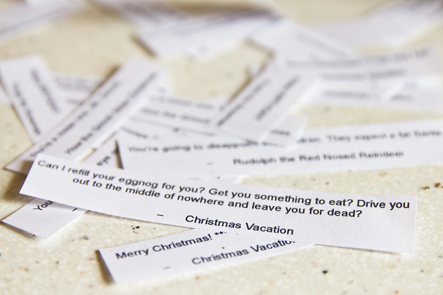 Christmas Fortune Cookies