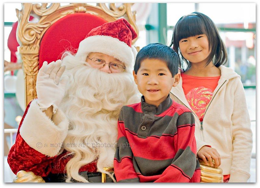 Santa visit 2 blog
