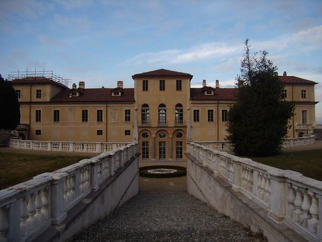 villa della regina - retro - Torino
