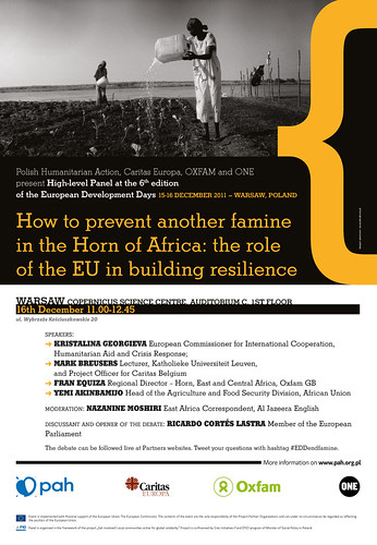 European Development Days poster