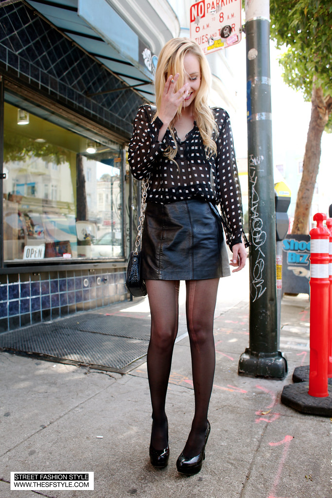 IMG_0361 copy san francisco street fashion style ripped tights black on black monochromatic peek-a-boo vintage heels