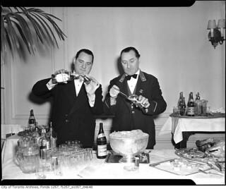 Bartenders at Royal York Hotel
