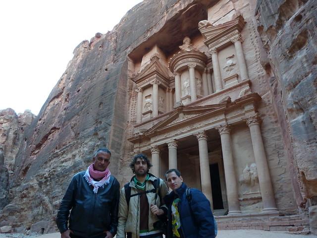 Albert Merino, Ibrahim y yo en Petra