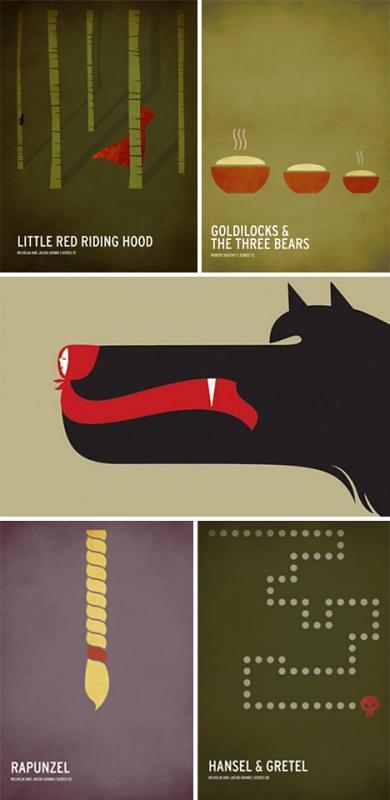 41 posters minimalistas cinema