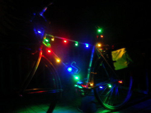 Deck The Bike With LED Lights
