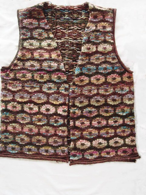 Persian Poppies Vest