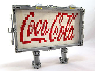 Lego Coca-Cola Billboard