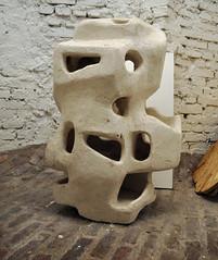 andré bloc, sculpture habitacle / architectural sculpture