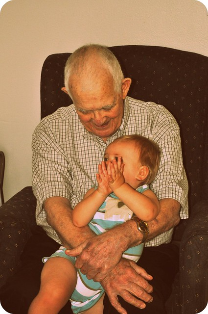 grandpa & kaleb